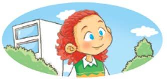 My sister is the girl with curly red hair