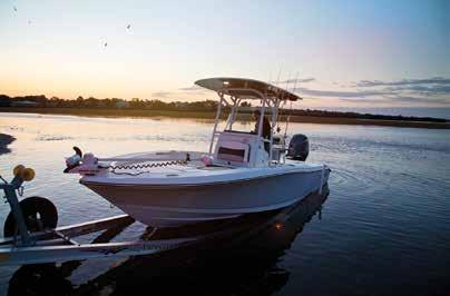 Unlike Crevalle, most bay boat manufacturers have focused only on the fishing aspect, neglecting to provide the necessary family comfort features.