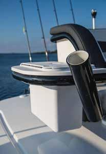 tower boat from Crevalle provides a comfortable elevated