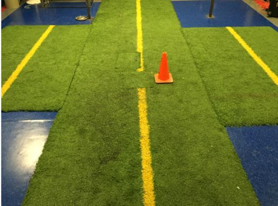 Figure 4: Force Plate c) Experimental Procedures: For each participant, testing was conducted in the Applied Biomechanics Lab (ABL) at the University of Mississippi and required a one-time, 3-hour