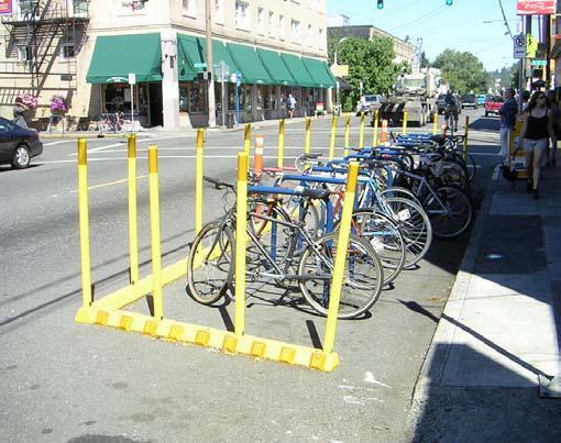 Bicycle Parking One of the most common obstacles for