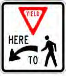 PEDESTRIAN SIGNS AND WAYFINDING Signage provides important safety and wayfinding information to motorist and