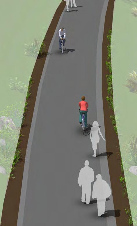 General Design Practices Description Shared use paths can provide a desirable facility, particularly for recreation, and users of all skill levels preferring separation from traffic.