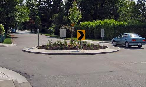 TRAFFIC CALMING MEASURES Traffic calming is a design approach that seeks to lower motor vehicle traffic speeds using physical and visual cues.
