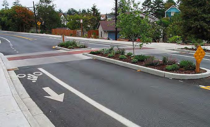 Slower traffic also tends to reduce roadway noise, which contributes to overall neighborhood livability and walking comfort.