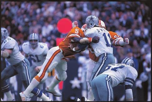 1981 NFC DIVISIONAL PLAYOFF GAME Sidelines Records History 2010 Review Players Ownership DALLAS The Buccaneers won a thrilling showdown with Detroit in the last week of the regular season to capture