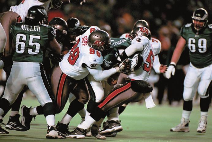 2000 NFC WILD CARD PLAYOFF GAME Sidelines Records History 2010 Review Players Ownership PHILADELPHIA Tampa Bay remained winless on the road in the postseason (0-5) as Philadelphia dominated the Bucs