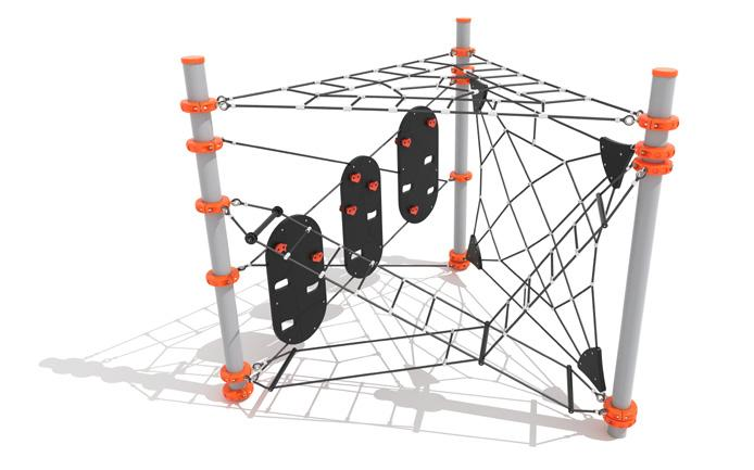 Carey s Peak 2 modules to accommodate lots of challenge. 1. Parkour Tri - Low 2. Geo Maze 2355mm 2150mm 8.3m x 6.9m Area: 44.