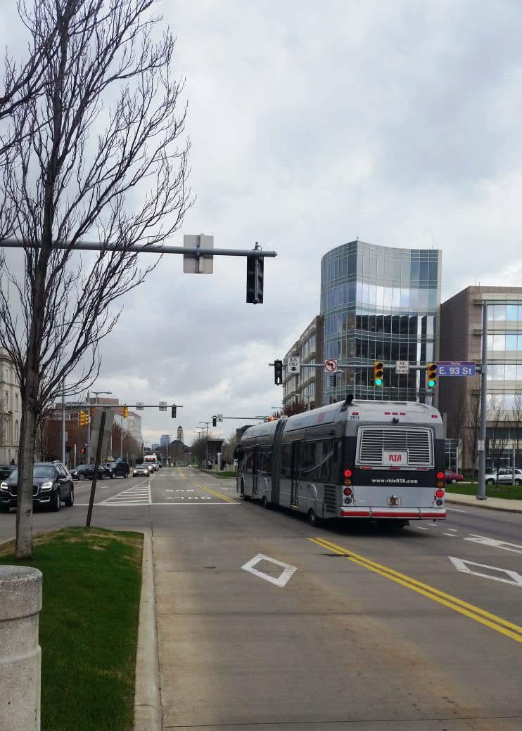 Bus Rapid Transit BRT is a cost-effective approach to transit service which blends the positive features