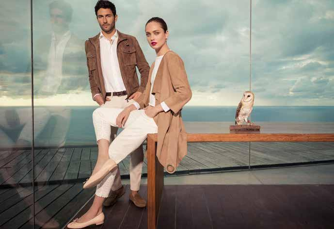 PERSONALITY AND A UNIQUE SENSE OF STYLE The design of the Pedro del Hierro brand is always in constant evolution, harmoniously combining the essences of fashion and the visionary aspect of trends,