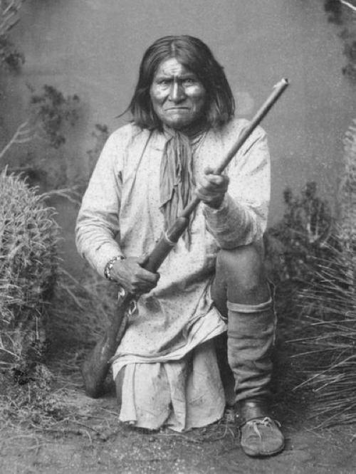 Geronimo The conflicts between Native American tribes and American settlers led to many bloody confrontations, but also created legends out