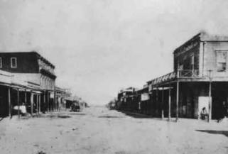 boom town of Tombstone, Arizona Territory, to join Wyatt and his brothers. Big Nose Kate, also on her way to Tombstone, ran into Doc in Prescott, Arizona.