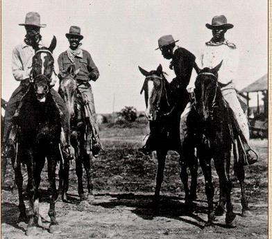 The Cattle Bonanza ½ of all cowboys were black & ¼ were Mexican By 1880, the open range was ending: Wheat growers, homesteaders, &