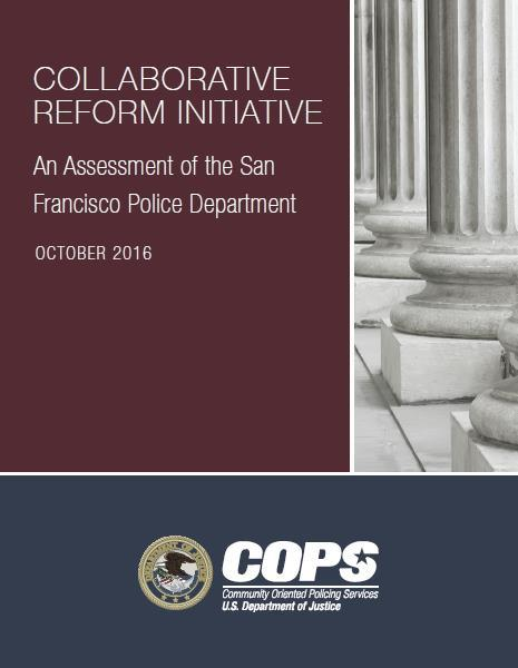DRAFT Introduction This analysis is also timely in that the SFPD is currently reviewing and implementing 479 recommendations it