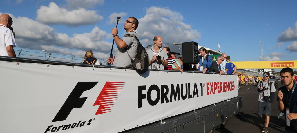 STARTER In a perfect position to see the Formula 1 cars beat the S bends, Turn 4 Grandstand provides the ideal opportunity to witness true drivers at work.