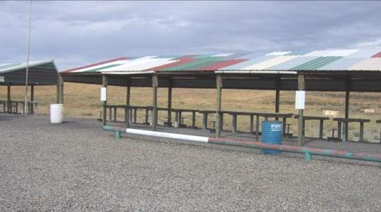 TCMSA range layout: The main portion of the range is the 100 / 200 yard benchrest area.