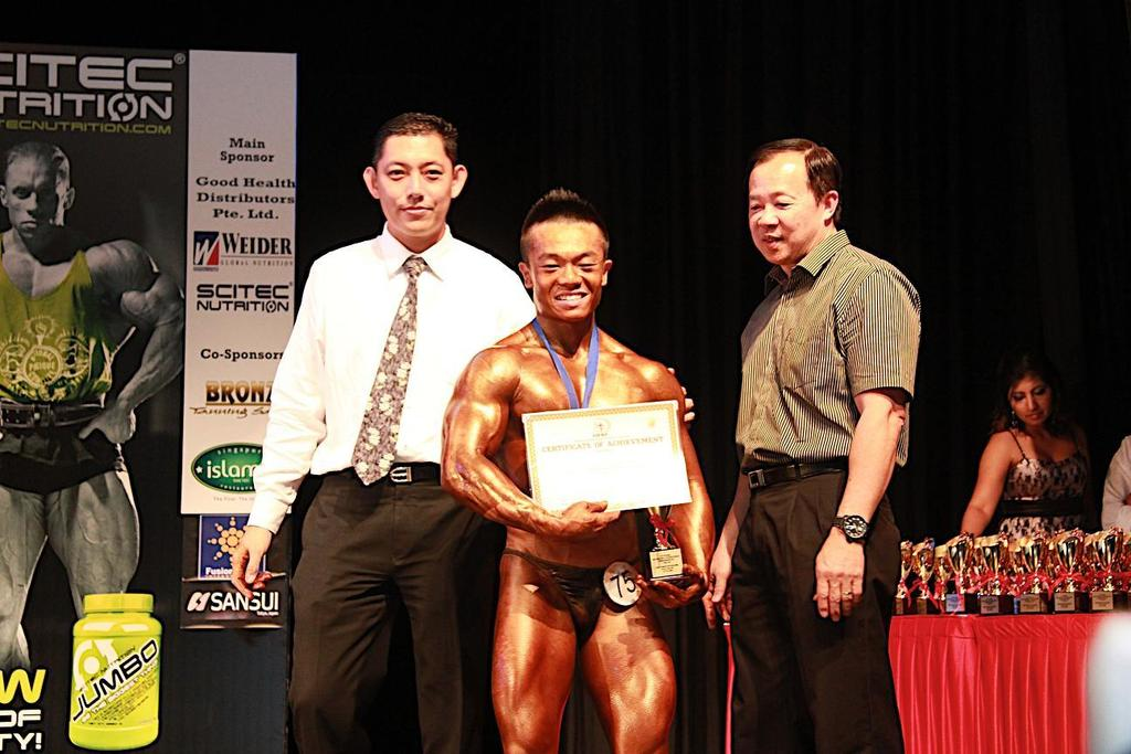 Ming 2 nd Placing Abdul Rahim Bin