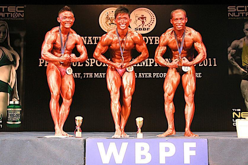 MEN S SENIOR BODYBUILDING 65KG &