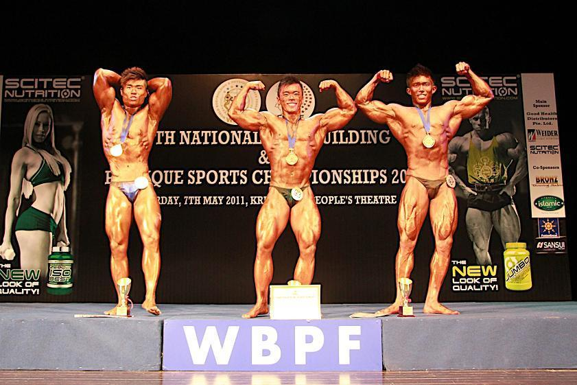 MEN S SENIOR BODYBUILDING 70KG