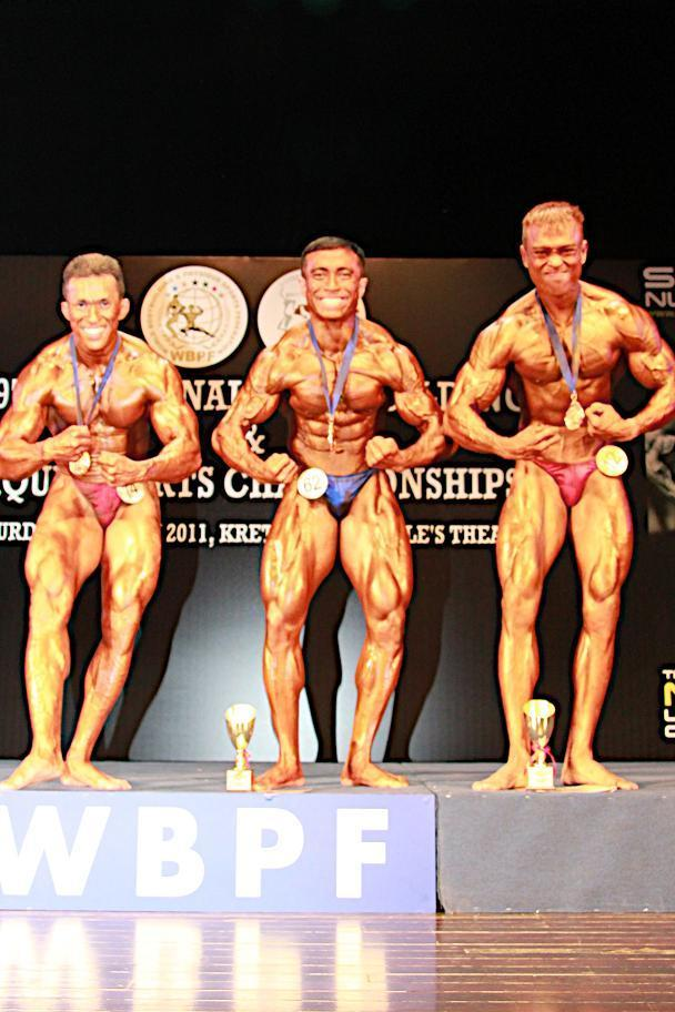 MEN S SENIOR BODYBUILDING 75KG &