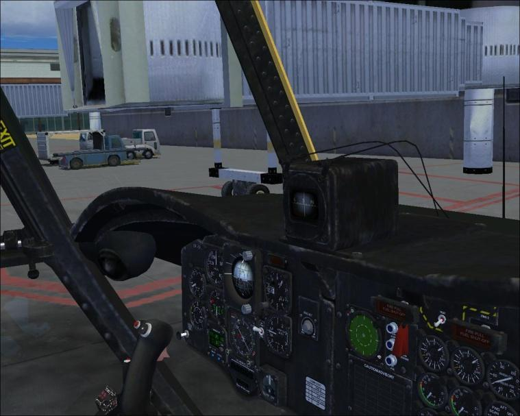 that! In the virtual cockpit you will also find a lot of animations like controls, instruments and