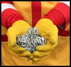Ronald McDonald House Charities Grissom is once again collecting pop tabs to benefit Ronald McDonald House Charities! The pop tabs are recycled and sold for scrap metal.