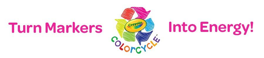 Crayola ColorCycle Students and teachers will soon be collecting used markers (any brand!) to be converted into clean fuel.
