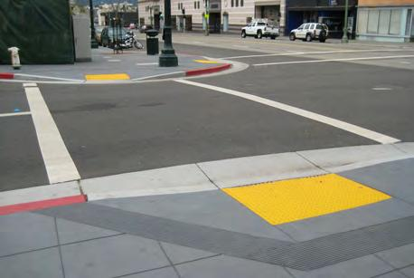 Curb ramps are an important link in providing accessibility and creating connectivity throughout the pedestrian network.