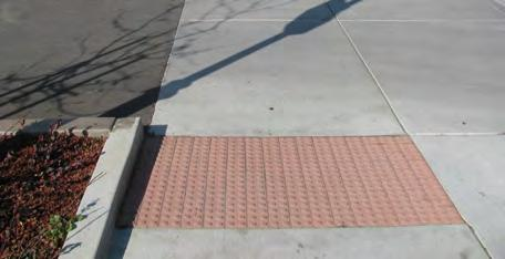 DRIVEWAY RAMPS Driveways allow vehicles to cross the sidewalk and gain access between the street right-of-way and private parcels.