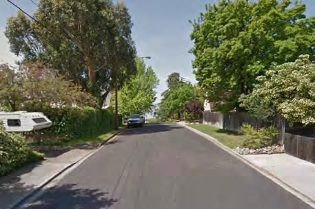 LOCAL STREETS (45 ROW) Local streets run through residential neighborhoods and are approximately 40 to 45 feet wide.
