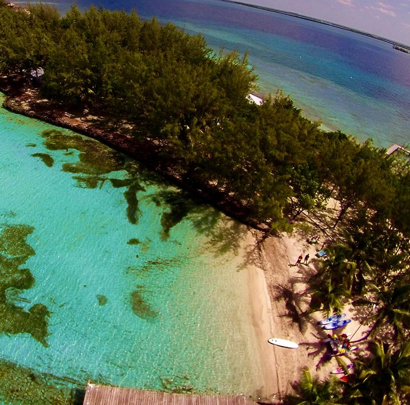 THE ULTIMATE ISLAND RESORT EXPERIENCE THATCH TROPICAL ISLAND EXPERIENCE Take a ride on the dive