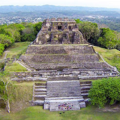 ADVENTURE STARTS HERE GO SEE BELIZE Xunantunich (Stone Maiden) & Blue Hole National Park Enjoy the orange farms, banana farms and a good view of our Maya Mountains, during the three hour drive