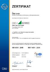 our DakkS- Calibration Laboratory is certified after DIN EN ISO/IEC 17025.