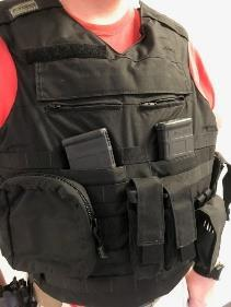 Users must use the pouch in all courses of fire and have fully loaded rifle and handgun magazines in the pouch.