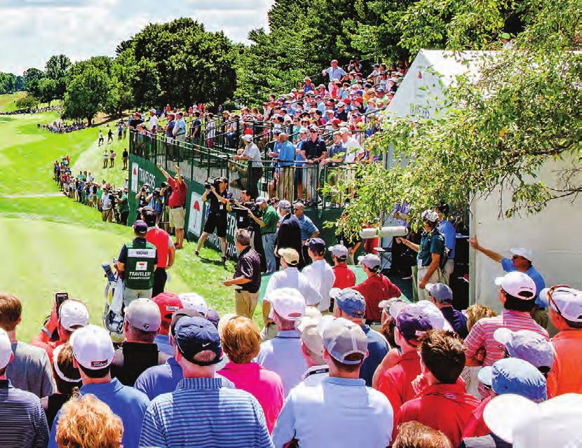 Jon Rahm BEYOND GOLF The Travelers Championship is Connecticut s largest annual professional sporting event and one