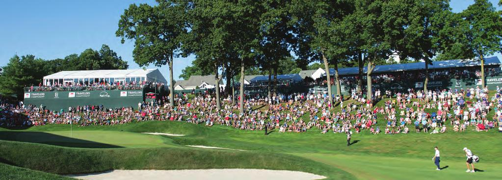 Perfectly located amid the final four holes at TPC River Highlands, our luxury hospitality venues provide the ideal setting for first-class entertainment.