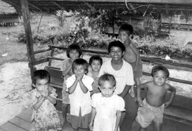 Monkeys and Mentawai Islanders 195 Figurre 9.4. Mentawai Islander children. Islanders, as all the names come from the southern portion of Siberut (Nooey-Palm, 1968).