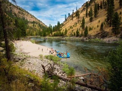 Action Whitewater Adventures 5 Day, 4 Night Whitewater Rafting for 2 People This adventure takes place on Idaho s famous Main Salmon River.