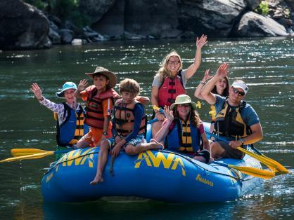 As a result, trip participants can choose their ride from mild to wild. The Main Salmon River is a world class white water river that is appropriate for just about everyone.