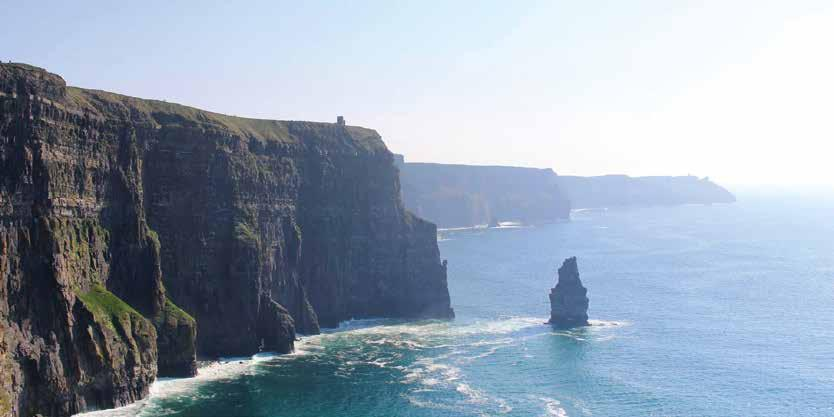 Your Irish Adventure begins here! Travelling from Dublin, you will leave the crowds and noise behind and begin your journey along the Wild Atlantic Way.