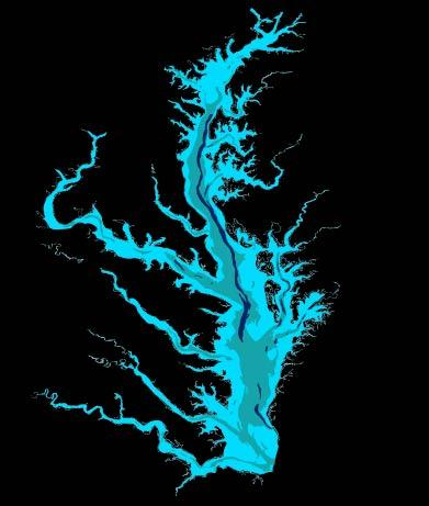 Chesapeake Bay Bathymetry Susquehanna