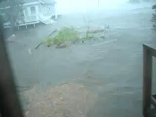 Storm Surge from Hurricane Irene Rumley