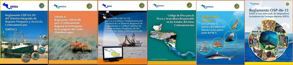 REGIONAL REGULATIONS Integrated record system of fisheries and aquaculture Management of the Caribbean Spiny Lobster Regional satellite monitoring and control system for fishing vessels