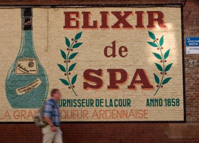 SPA BELGIUM Often referred to as the Pearl of the Ardennes, this Belgian mountain town is where the word spa comes from.