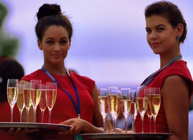FORMULA ONE PADDOCK CLUB Included in Legend, Paddock Club & Premier Packages Guests will receive