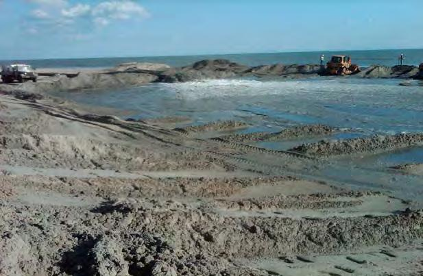 Regulatory Coastal Nourishment Projects, NC Permits being requested for numerous coastal nourishment projects are being undertaken and funded by