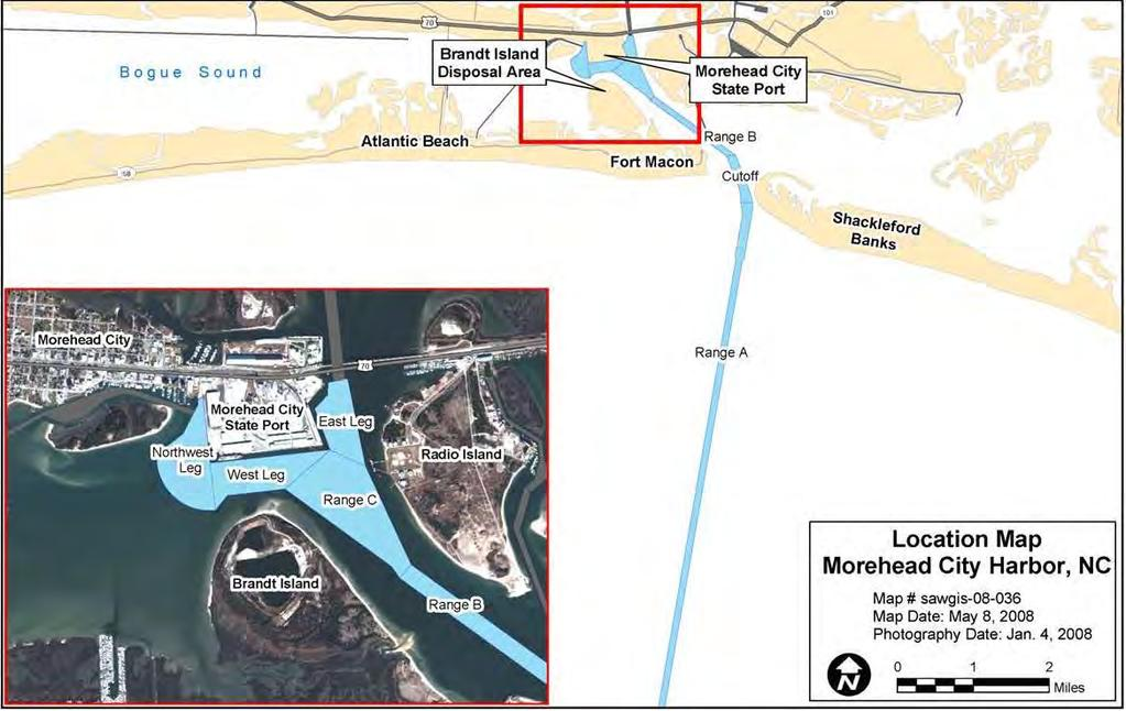Morehead City Harbor, NC O&M for Dredging Contracts & associated costs FY 2015 BUDGET