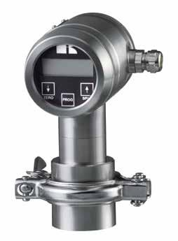 INTELLIGENT PRESSURE- AND LEVEL TRANSMITTERS For all industries Series 2000 ALL STAINLESS DESIGN EASY CALIBRATION WITHOUT TEST PRESSURE BY 3 PUSH BUTTONS