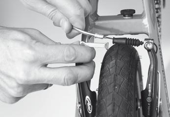 FIXING A PUNCTURE A flat tyre can happen to any cyclist.