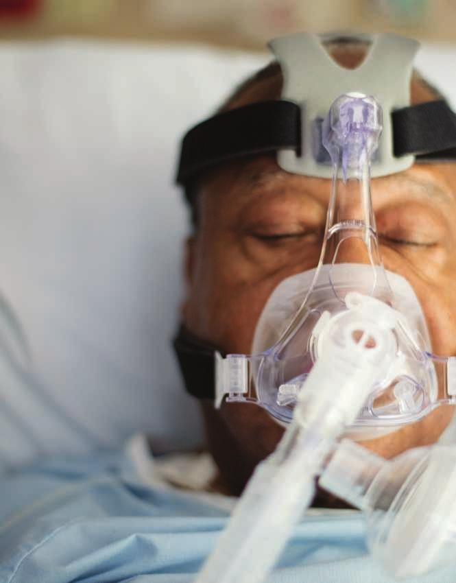 Oro-nasal masks Oro-nasal masks are the standard of care for hospital NIV, and the Philips Respironics family includes a comprehensive selection of systems with features that address patient comfort,